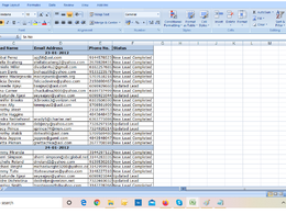 Extract 500 Data Entry records for 2 hours