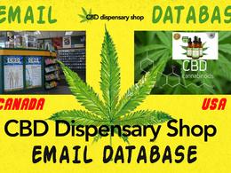 40 thousands active USA and canada CBD cannabis dispensaries