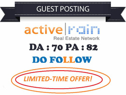 Guest Post On Activerain Dofollow Real Estate