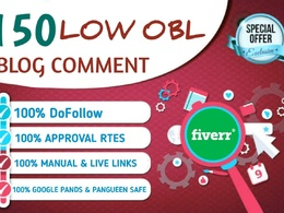 DA50+ dofollow blog comments  with 50 blog commenting backlinks