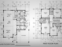 Design Architectural Floor Plans For Planning Application