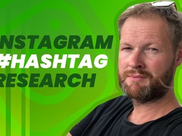 I will research best hashtags for instagram growth