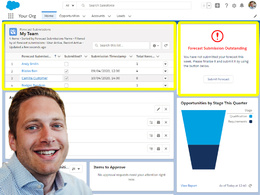 Submit Forecast Feature for Salesforce Collaborative Forecasting