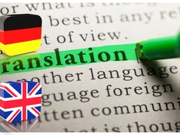 Translate from English to German or vice versa up to 500 words