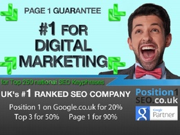 UKs #1 SEO Experts's header
