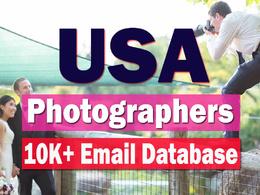 USA Photographers 10,000+ Email Database