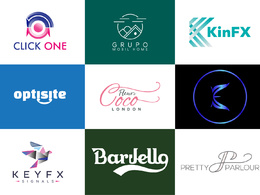 Design your bespoke logo with +unlimited revisions+Source Files