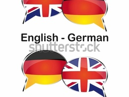 Be your translator for GERMAN to ENGLISH and vice versa(500word)