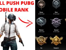 Push pubg mobile id rank to the conqueror fast