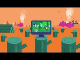 Create an eye Catching 60 sec 2D Animated  Video + Voice over