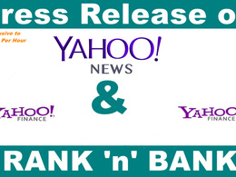 Distribute Your Press Release to Yahoo news and Yahoo finance