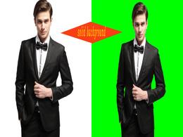 Make transparent / solid 15 images background in  Photoshop