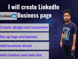 Create and design LinkedIn business page
