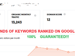 Monthly SEO Package Rank 5,000 Keywords On Google USA - UK