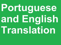 Translate 500 words from English <> Portuguese