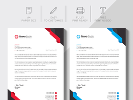 Design professional letterhead design within 12 hours
