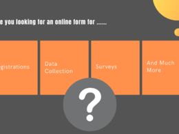 Create forms for Registrations, Surveys & Data Collection