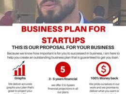 Make a business plan for startups
