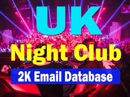 UK Night Club 2000 Email Database