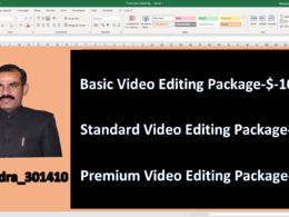 Do Professional and World Class Video Editing