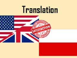 Translate English Polish, record pronunciation