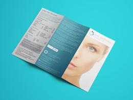 Design a tri fold leaflet or double sided leaflet/flyer