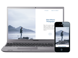 Create a responsive single page website