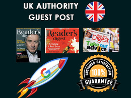 Readers Digest UK - Authority Do Follow Post DR64 DA50 TF56