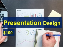 Design professional presentation by 1-3 days