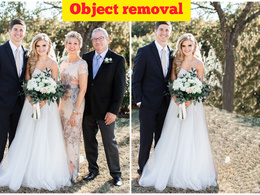 Perfect and professional object removal and people from your pho
