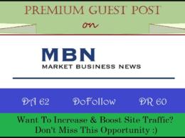 Publish Guest Post on Marketbusinessnews- Marketbusinessnews.com