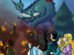 Make childrens book illustrations