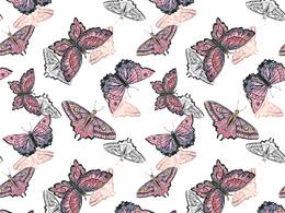 Create unique watercolor seamless Pattern