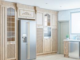 Create 3d realistic kitchen render