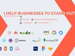 Build website application for StartUp and Enterprise businesses