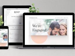 Make a beautiful wedding website