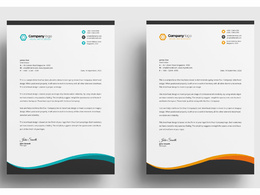 Create professional letterhead within 6 hours
