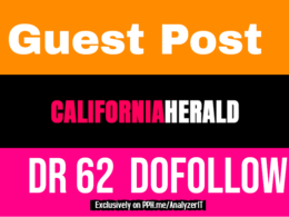Publish Guest Post on CaliforniaHerald.com DR with dofollow link
