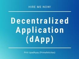 Create your Decentralized Blockchain Application (dApp) specs