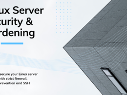Secure your Linux VPS or dedicated server