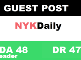 Publish guest post on nykdaily - nykdaily.com DA 48 300k traffic