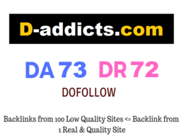 Guest Post on D-addicts.com - DA 73 DR 72