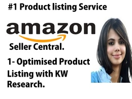 Write/Provide 1 Amazon Listing With Optimised Description and KW