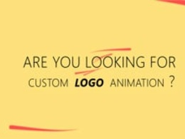Custom animate your existing logo