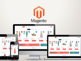I will design and develop your magento ecommerce online store