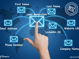 Collect 100 genuine and active targeted email leads with info