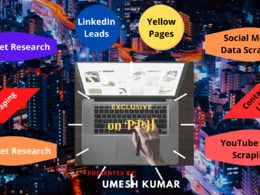 Extract/Scrape data from website|LinkedIn|YouTube|Social Media