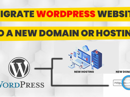 Migrate any WordPress site to a new server or domain name