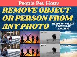 Remove objects or person from the photo