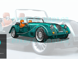 Vector illustration cars and any type of vehicle